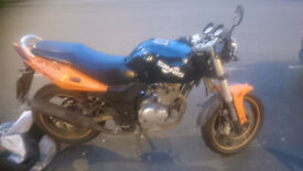 Sinnis Stealth 125 cc motorbike for sale (SPARES or REPAIR)