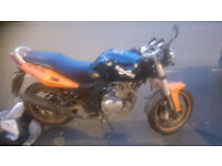 Sinnis Stealth 125 cc motorbike for sale (SPARES or REPAIR)