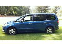 Ford galaxy 7 seater 140 bhp Sat nav 2.0 diesal ghia top of the range