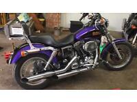 Harley Davidson Dyna 1550