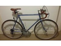REDUCED - MUST GO! - Vintage Retro Road Racer Bike c. 1986 Mens Adult Vintage Retro Restored Bicycle