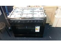 SWAN cooker 90cm new working order in black