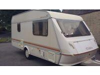 elddis wisp 450CT ultralight 4 berth caravan