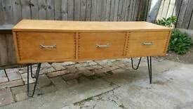 Upcyled retro sideboard / coffee table