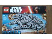 Lego Star Wars Millennium Falcon 75105 BNIB