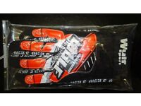 wulfsport gloves motocross motox quad enduro adult size xl in orange black