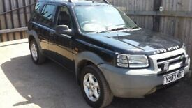 land rover freelander mot tax semi auto leather heated seats cd changer
