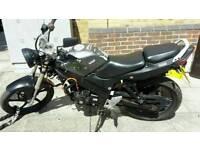 Sky jet 125cc geared motorbike read