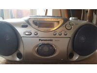 Portable CD Ghetto Blaster