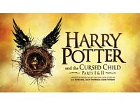 Harry Potter and the Cursed Child Ticket - Front row of Grand Circle, August 31st and Sept 2nd