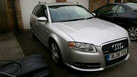 Audi A4 Avant 2.0 Diesel with S4 KIT, Nav, Bluetooth