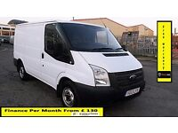 Ford Transit 2.2 TDCi 300 S Low Roof Van 125PS -Six Speed - AA Certified Mechanical Report-260 280
