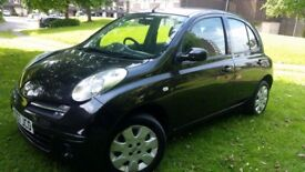 Nissan MICRA, automatic, low mileage, no dent, full service history, 1 year MoT