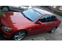 Lexus is200 2 litre petrol manual
