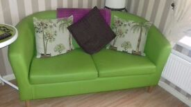 LOOK*****Apple Green Tub Sofa, Couch, Chair, Seats, Living room set, As New RRP £350 BARGAIN!!