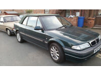 rover convertable 1.6 honda engine mot july 18