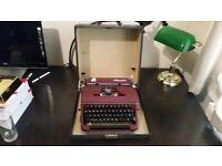 Vintage Olympia Portable Typewriter