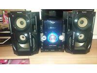 panasonic 500w stereo system