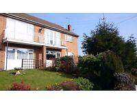 Calverton, Redgates Court, 2 bed flat to rent with garage