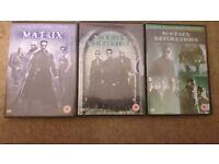 Matrix DVD's