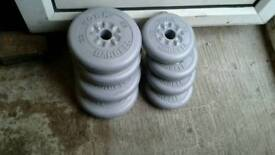 York Barbell 8x Weight Plates For Only £7
