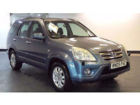 2005 05 HONDA CR-V 2.2 I-CTDI EXECUTIVE 5D 138BHP DIESEL*PART EX WELCOME*FINANCE AVAILABLE*WARRANTY*