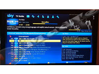 MEELO SE - Twin Tuner Sky Box with 500Gb HDD, Sky Skin, KODI 16 & 12 Months Uk Gift Zgemma Killers