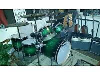 Mapex meridian maple drum kit