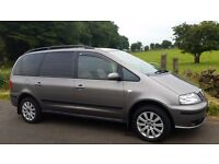 Seat alhambra full leather limited edition 2006 low mileage 7seater economical people carrier