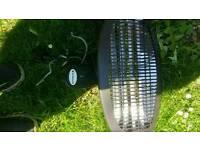 Patio halogen heaters