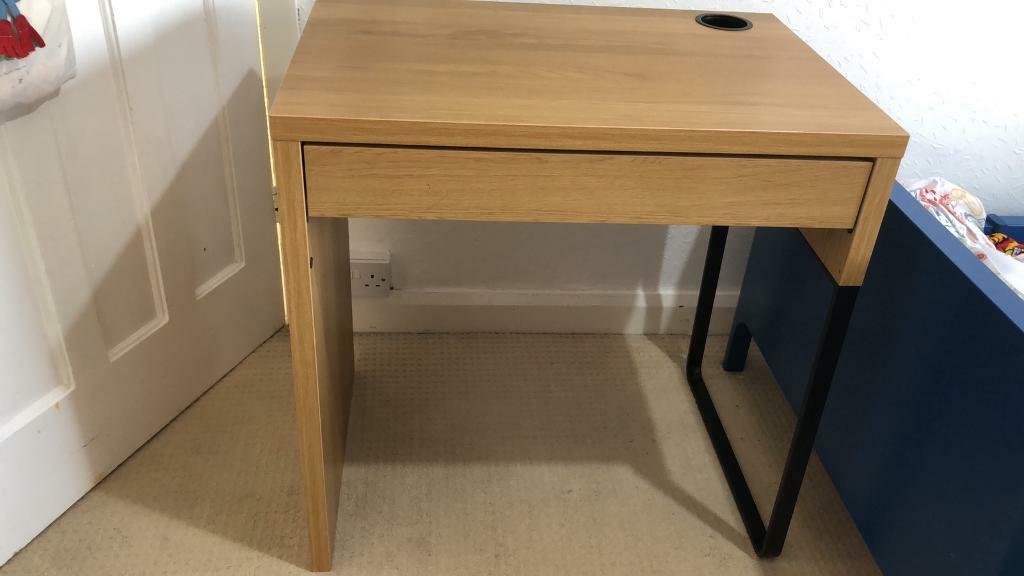 timeless design 53533 234a0 Ikea Micke desk OAK | in Sandwell, West Midlands | Gumtree