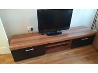 TV Cabinet in walnut style finish
