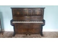 Arthur Allison & Co Piano - Beautiful Vintage Up-right Piano (Great Condition)
