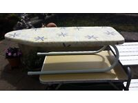 Camping Caravan Fold up Table Top Ironing Board As New