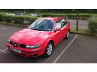 SEAT TOLEDO 1.8 20v petrol - nice clean car, only 77670 miles on the clock - 12 months MOT