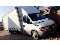 BIGGEST LUTON VAN IN THE UK IVECO DAILY XLWB 22 FT LONG !!!!