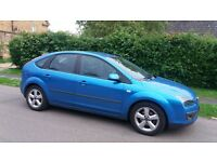Ford Focus 1.6 Zetec Climate 05 plate in blue