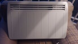 practically new wall mounted 1.5kW Dimplex panel heater