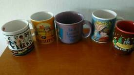 Job lot / bundle of collectable mugs