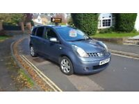 *REDUCED*2007 NISSAN NOTE TEKNA 1.6 PETROL AUTOMATIC GREY 1 PREVIOUS OWNER FULL SERVICE HISTORY