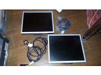 3 X LCD SCREENS