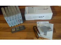 Nintendo DSi, Boxed and like brand new with all original parts & manuals, 11 games.
