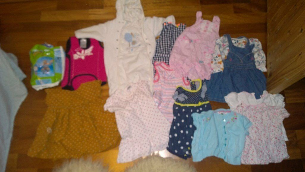 Baby Girls Clothes Bundle 6-9 months M&S John Rocha