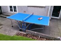 Cornilleau Table tennis table bats and balls