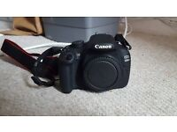 Canon Camera EOS 1200D with extra lense worth 100!