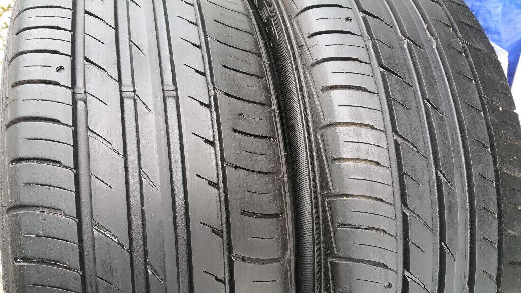 215 55 18 2 x tyres Falken Ziex ZE914
