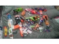 Nerf gun bundle including Star Wars and Doominator