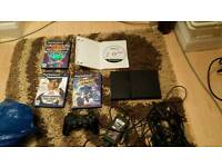 Ps2 slimline one controller all wirrs 4 games