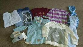 Baby Boys Clothes Bundle - size 6-9 months