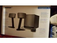 Bose speakers and woofer